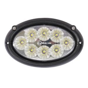 EMC 12V/24V 6.6 40W CREE LED luzes automáticas Oval aluguer de veículo tractor luzes de trabalho para a Massey Ferguson