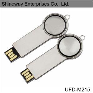 Элегантная форма ключа USB Flash Drive (UFD-M215)