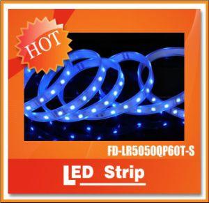 La alta calidad LED SMD5050 60/M de 12VCC TIRA DE LEDS RGB con CE y RoHS aprobado