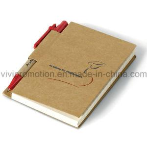 재생된 서류상 펜 (PNB013)를 가진 주문 일기 노트북