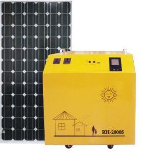 Home Use를 위한 300W-2000W Pure Sine Wave Solar Generator Solar Power Generator