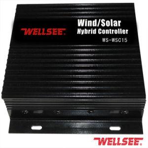 Vento di Wellsee/regolatore chiaro ibrido solare (WS-WSC 15A)