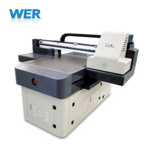 Automatischer Mehrfarbenuvdrucker A1 für Feder, Karte, Handy-Shell, Golfball