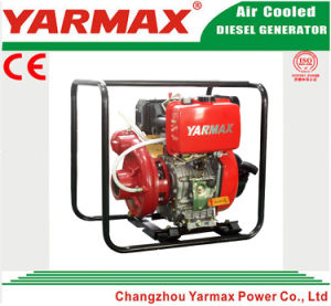 Da polegada agricultural 3 da irrigação 3 do ferro de molde de Yarmax bomba de água Diesel portátil Ymdp30I