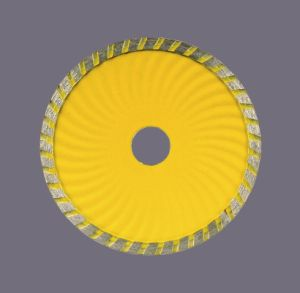 Diamond sinterizzato Disc con Turbo Wave Saw Blade