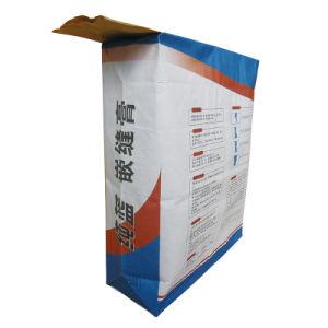 La soupape de sac de papier kraft pour les carreaux de la série de colle 20kg