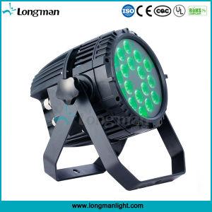 Ce/RoHS/UL/CQC Piscina Ce18*10W RGBW DJ DMX LED de la etapa de Luz PAR