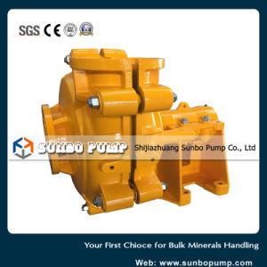 L'horizontale de la pompe centrifuge de l'exploitation minière Wear-Resistant lisier (CE, l'ISO, SGS approuvé)