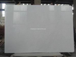 Het Witte Marmer Thassos van het kristal voor Plak, Tegel, de Bovenkant van de Ijdelheid