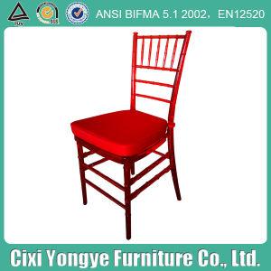 Weddings를 위한 수정같은 Red Resin Chaivari Chair