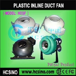 Centrífugas redondos de plástico do ventilador do duto (HCGF Inline)