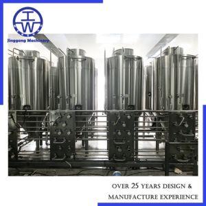 MantelEdelstahl-industrielles mischendes Becken/Sammelbehälter mit Quirl