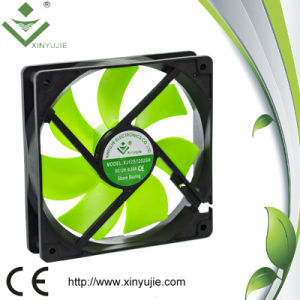 ventilator van de Ventilatie van de Radiator van de Ventilator van het Kogellager gelijkstroom van 120mm de Plastic