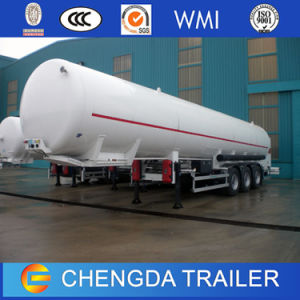 China Manufacxturer 3 EIXOS GLP Navio-tanque de combustível semi reboque