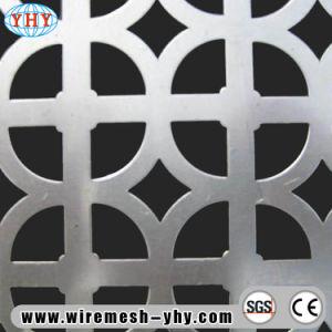Алюминий перфорированной металлической экрана в мастерской, декоративные конструктивного