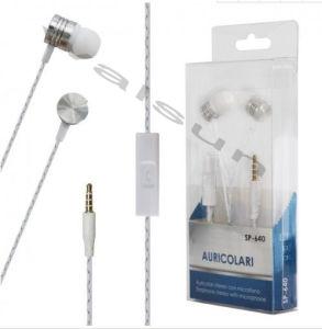 손을%s 가진 귀 이동 전화 이어폰에 금속 HD는 세륨 증명서를 가진 코드에 있는 대화를 해방한다
