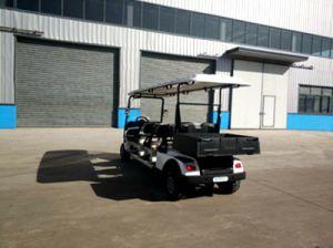 Marque Zhongyi 6 sièges Club Voiture électrique avec la boîte de chargement