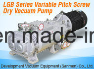 Bomba de parafuso seco de alta velocidade para o sistema de secagem a vácuo