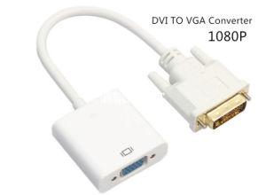 Aktives DVI-D zum VGA-Konverter 1080P