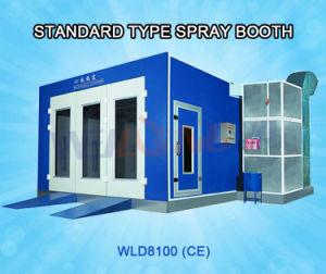 Cabina di tipo standard della verniciatura a spruzzo Wld8100 da vendere
