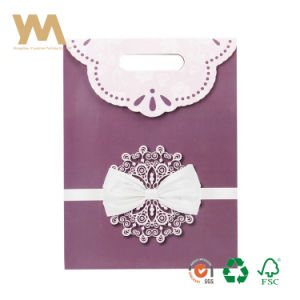 Embalaje de dulces impresos personalizados de papel Bolsa Bolsa de regalo