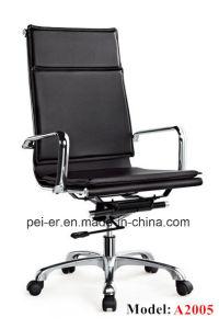 現代オフィスの人間工学的の余暇の革鉄の管理の椅子(PE-A2005)