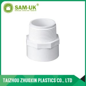 Bajo precio Sch40 la norma ASTM D2466 Adaptador de PVC blanco Una04