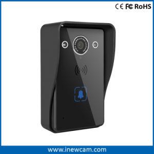 夜間視界の無線WiFi IPのビデオドアの電話ドアベルの相互通信方式