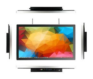 Alle in einem androiden interaktiven Kiosk des Warteschlangenverwaltungs-Systems-LCD