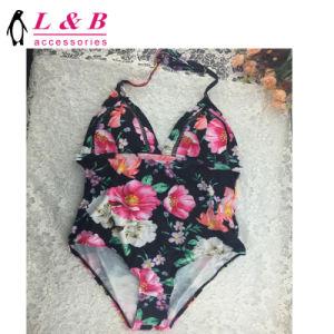 Nouveau design de mode Bikini à motifs de fleurs de maillots de bain Swimsute Siamesed