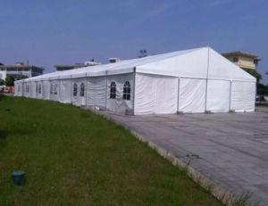 アルミニウムフレーム屋外のイベント展覧会のためのキャンプ党結婚式のテント