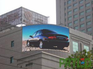 Etanche SMD3535 plein écran LED de couleur P10 pour publicité de plein air