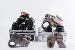 L'aluminium en alliage de titane cassette d'une clé six pans de couple hydraulique