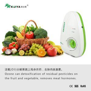 gerador de ozono portátil doméstico ozonisador estiver cortada procedimento desinfeta vegetais e frutas