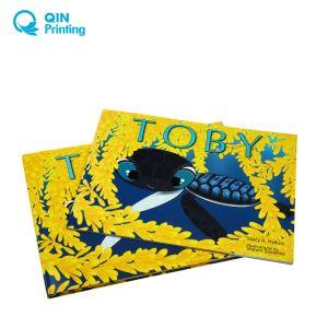 安く4人の色刷の薄紙表紙の児童図書