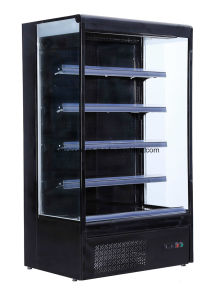 Откройте охлажденных дисплей для сетей супермаркетов молочных продуктов и напитков