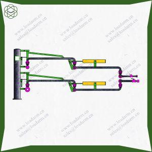 Braccio di caricamento chimico caustico della strumentazione di trasporto di memoria Al2543 GPL