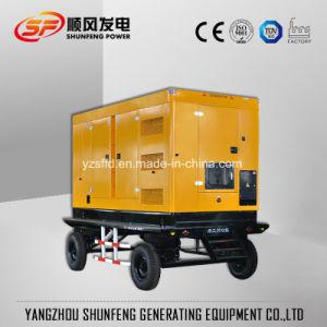 60КВТ для мобильных устройств автоматической буксировки электрической энергии Cummins дизельный генератор на заводе