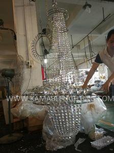 別荘のインテリア・デザインの装飾的な水晶シャンデリア。 (KA725)