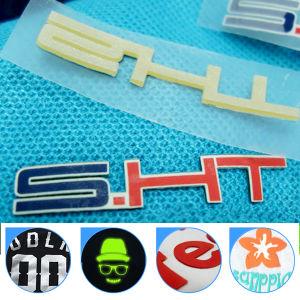 t-셔츠를 위한 레이블을 인쇄하는 주문 고밀도 3D 실리콘 열전달