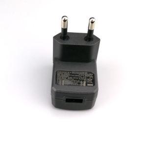 EU-RoHS Wand-Montierungs-Energien-Adapter Wechselstrom-Gleichstrom-6V 1A