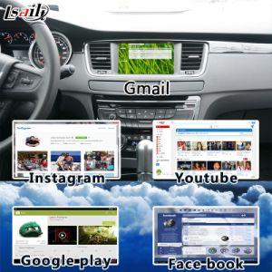 Android Market 6.0 Sistema de navegação GPS para 2014-2018 Peugeot-2008/208/508/408 WiFi Mirrorlink mapa online de suporte