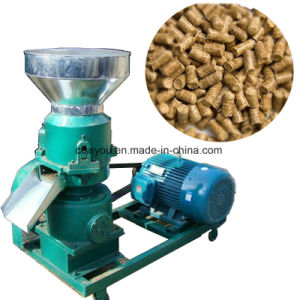목제 톱밥 곡물 동물 먹이 펠릿 기계