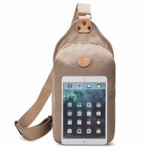 Nouveau design Fashion hommes poitrine sac pour ordinateur portable