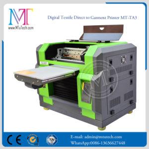 빠른 속도 탁상용 A3 크기 평상형 트레일러 DTG t-셔츠 인쇄 기계