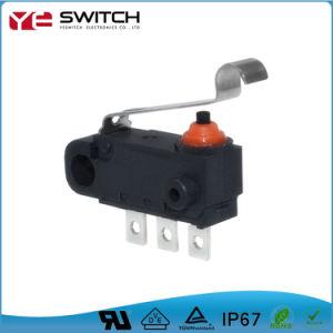 Resistente al agua Electrónicos de encaje con el nivel de largo el interruptor de encendido automático de tacto Micro interruptor pulsador