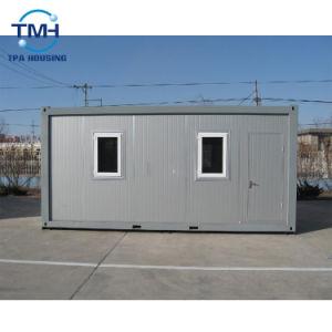 20FTのフラットパックの速い構築の一時生活のためのプレハブの容器の家