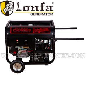 Generatore raffreddato ad aria della benzina della saldatura di Shw300e 614cc con la rotella