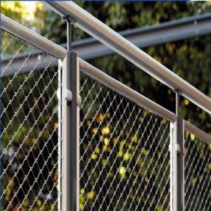 304/316/316l escalier en acier inoxydable balustrade Wire Mesh éviter de tomber