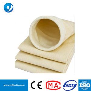 Manicotto non tessuto del filtrante del sacchetto filtro di Aramid Nomex della polvere del feltro dell'ago per Baghouse